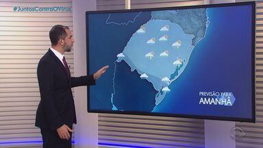 Chuva volta a se espalhar em praticamente todo o RS nesta sexta-feira (11) - Assista ao vídeo.