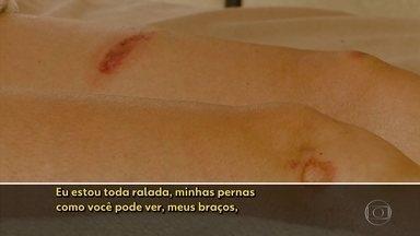Agressão às mulheres - Este ano foram 17 mil registros de lesão corporal dolosa no interior.