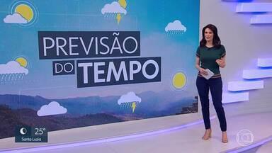 Calorão e tempo seco no sábado na Grande BH - Os termômetros podem chegar a 37 graus, em São José da Lapa. Veja a previsão da meteorologia.