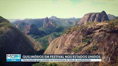 """História de comunidade isolada no Vale do Jequitinhonha chega aos Estados Unidos - O curta-metragem """"Quilimérios"""" vai participar do Brazilian Film Festival, em Chicago."""