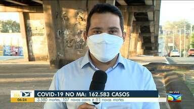 Maranhão já registrou 3.580 mortes pela Covid-19 - Segundo a SES, nesse domingo (14) foram registrados 107 novos casos e 11 novas mortes.