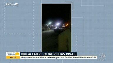 Tiroteio deixa quatro pessoas feridas em Ilhéus; uma das vítimas está na UTI - A polícia acredita que a troca de tiros entre bandidos tenha sido motivada por disputa de facções.