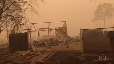 Mortes relacionadas a incêndios florestais na costa oeste dos EUA chegam a 35 - Estados mais afetados são Califórnia, Oregon e Washington