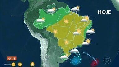 Previsão é de chuva no RJ nesta terça-feira; veja como fica o tempo em todo o país - A estiagem que atinge vários estados brasileiros está trazendo prejuízos enormes.
