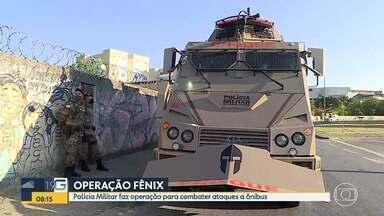 Polícia Militar faz operação no bairro Jardim Felicidade, onde ônibus foi incendiado em BH - Em uma semana, foram quatro ataques.