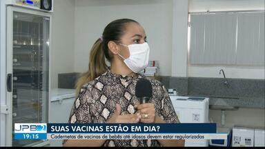 Secretaria de Saúde da PB recomenda que vacinas de bebês e idosos estejam regularizadas - Importância da imunização.