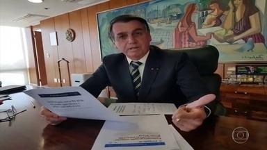 Bolsonaro desiste de lançar o programa Renda Brasil - Repercussão desastrosa de estudos do governo para criar um programa substituto do Bolsa Família levaram o presidente a sepultar o projeto e a desautorizar a equipe econômica.