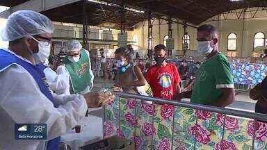 Serraria Souza Pinto volta a receber sem-teto em Belo Horizonte - De acordo com a prefeitura, pelo menos 60 sem-teto já foram infectados pelo novo coronavírus na cidade.
