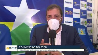 PSDB oficializa candidato à prefeitura de Porto Velho - Hildon Chaves é oficializado na disputa pela reeleição
