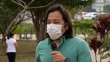 Médico dá dicas para uso de máscara no calor - Otorrinolaringologista Tjioe Tjia Sin dá orientações.