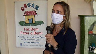 Cecan de Mogi realiza ação 'Kit do Bem - Frete Solidário' - Uma empresa faz salgadinhos, inclusive com opção vegetariana, e a taxa de entrega será aveia em flocos, que será doada ao Cecan.