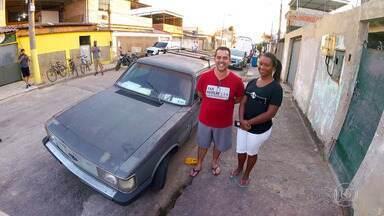 'Lata Velha' retorna para reformar o Caravan Comodoro 1987 do Alan - Luciano Huck apresenta seu telejornal caseiro e conta a história