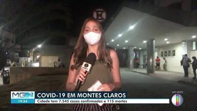Montes Claros chega a 7.545 casos confirmados da Covid-19 - Município tem 115 mortes, segundo a prefeitura.