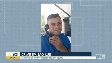 Motorista de ônibus é assassinado durante assalto em São Luís - Por causa do crime, houve paralisação por parte dos motoristas dos ônibus nesse domingo (20), na capital maranhense.