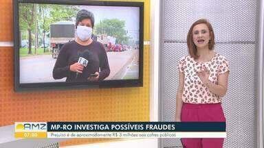 MP-RO investiga possíveis fraudes no DER - A Operação Miragem apura possíveis desvios de dinheiro na aplicação de recursos provenientes do Programa Proinvest.