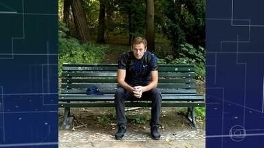 Líder de oposição ao governo russo recebe alta do hospital - Alexei Navalny escreveu numa rede social que vai fazer fisioterapia todos os dias para recuperar as habilidades motoras. Por enquanto, na Alemanha. O hospital de Berlim afirma que ele foi vítima de envenenamento.