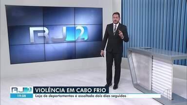 Veja a íntegra do RJ2 desta quinta-feira, 24/09/2020 - Apresentado por Alexandre Kapiche, o telejornal traz as principais notícias das cidades do interior do Rio.