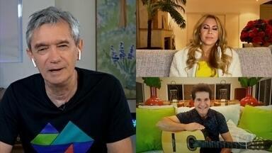 Daniel e Joelma falam sobre suas influências musicais - Cantores também falam sobre a relação com o público