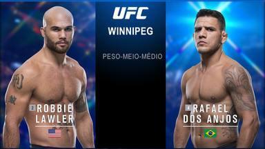 UFC Lawler x Dos Anjos - Robbie Lawler x Rafael dos Anjos - Luta entre Robbie Lawler x Rafael dos Anjos, válida pelo UFC Lawler x Dos Anjos, em 16/12/2017.