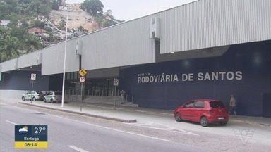 Nova Estação Rodoviária de Santos é inaugurada após obras - Rodoviária teve estrutura remodelada para oferecer melhorias aos passageiros, segundo a prefeitura.