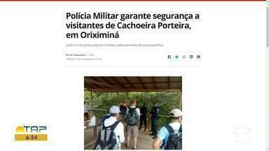 Confira o destaque do G1 Santarém e região - Acesse o portal pelo tablet, celular ou computador .