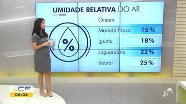 Veja a previsão do tempo e a situação do trânsito com Camila Marcelo - Saiba mais em g1.com.br/ce
