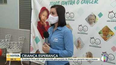 Criança Esperança: Fundação sara é assistida pelo projeto da Globo - Três programas da entidade vão receber apoio.
