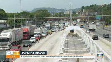 Avenida Brasil acumula problemas e desafios - A série de reportagens mostra o dia a dia e desafios da maior e mais importante via expressa do Rio.