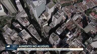 Preço do aluguel volta a subir no Rio - Agora procura maior é por imóveis mais espaçosos e com mais área verde.