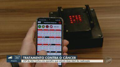 USP de São Carlos cria aparelho que calcula dose ideal de medicação contra câncer - Pesquisadores desenvolveram um aparelho portátil de baixo custo que, no futuro, pode tornar o tratamento mais seguro e eficiente para os pacientes.
