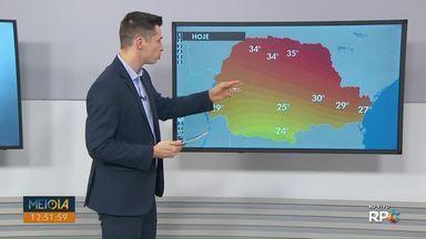 Veja como fica a previsão do tempo para Ponta Grossa e região nesta semana - Tempo deve voltar a ficar firme nos próximos dias.