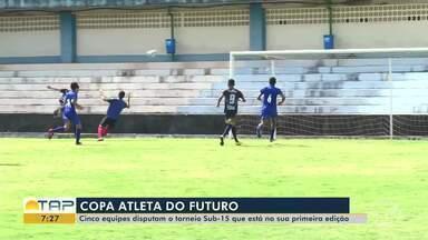 Cinco equipes disputam o torneio sub-15 da Copa Atleta do Futuro - Confira na reportagem.