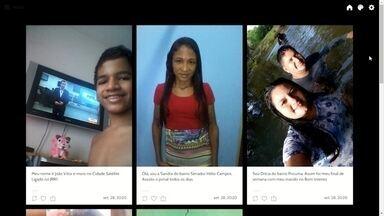 Telespectadores participam do jornal de Roraima 1ª edição - Confira as fotos enviadas para o JRR1
