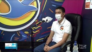 Bira do Pindaré é entrevistado na Mirante FM - As entrevistas acontecem ao meio, no programa Jornal da Mira, na Mirante FM.