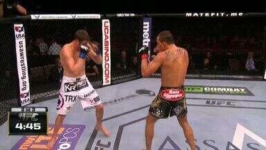 UFC Jacaré x Mousasi - Sean Soriano x Chas Skelly - Luta entre Sean Soriano (US) x Chas Skelly (US), válida pelo UFC Jacaré x Mousasi - Peso Pena, em 05/09/2014.