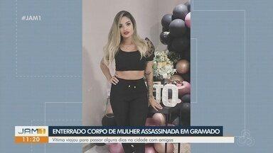 Corpo de amazonense encontrada morta em Gramado é enterrado em Manaus - Vítima viajou com amigas para passar alguns dias na cidade. Polícia investiga caso como latrocínio (roubo seguido de morte).
