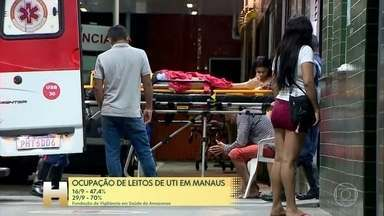 Especialistas apontam que Manaus vive uma segunda onda da Covid-19 - Internações aumentaram 60% em um mês.