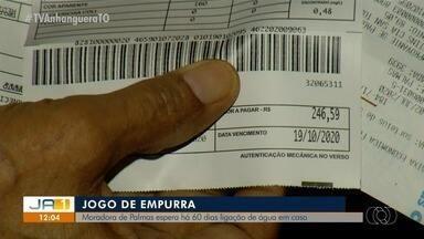 Moradores de Palmas enfrentam dificuldades para conseguir atendimento da BRK ambiental - Moradores de Palmas enfrentam dificuldades para conseguir atendimento da BRK ambiental