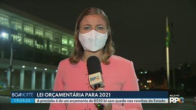 Governo do Paraná entrega para a Assembleia previsão de orçamento para 2021 - A previsão é de um orçamento de R$50 bi com queda nas receitas do Estado.
