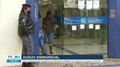 Nova parcela do Auxílio Emergencial começa a ser paga nesta quarta-feira - benefício foi criado para apoiar as famílias que estão com dificuldades financeiras pro conta da pandemia do novo coronavírus.