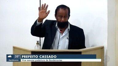 Prefeito de Bandeirantes é cassado e vice assume a prefeitura - Prefeito de Bandeirantes é cassado e vice assume a prefeitura