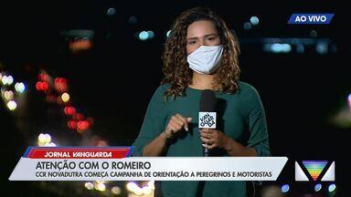 Começa campanha de orientação a peregrinos e motoristas na Via Dutra - Confira reportagem do Jornal Vanguarda desta terça-feira (29).