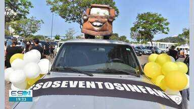 Empresários e trabalhadores do setor de festas e eventos fazem protesto em Vitória - Assista.