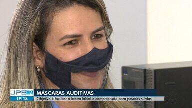 Máscaras inclusivas buscam facilitar leitura labial e compreensão de surdos - A partir de setembro, estabelecimentos públicos e privados devem ter alguns funcionários usando máscaras inclusivas para ajudar pessoas surdas.