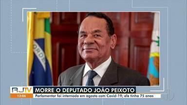 Deputado estadual João Peixoto morre de Covid-19 (parte 1) - Ele estava internado com novo coronavírus desde o dia 27 de agosto no Hospital Geral Dr. Beda, em Campos dos Goytacazes.