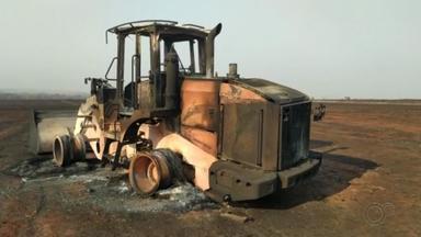 Funcionário de usina morre ao tentar combater incêndio na região noroeste paulista - Funcionário de usina morre ao tentar combater incêndio na região noroeste paulista.