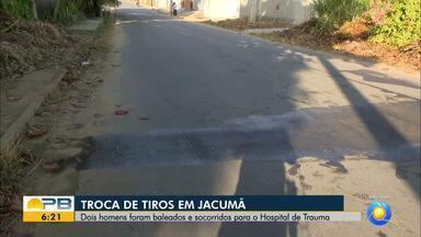Duas pessoas ficam feridas após troca de tiros em Jacumã, no Litoral da Paraíba - Vítimas foram encaminhadas para Hospital de Emergência e Trauma.