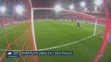 Flamengo e Palmeiras avançam e São Paulo é eliminado na Libertadores - Veja os principais lances das partidas.
