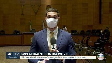 Processo de impeachment de Witzel tem nova etapa hoje - Sessão inaugural do tribunal misto começa hoje. Relator também vai ser definido.