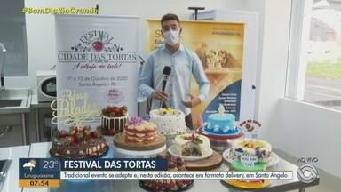 Festival de tortas de Santo Ângelo acontece em formato delivery - Nesta edição, 26 empresas vão participar do evento.